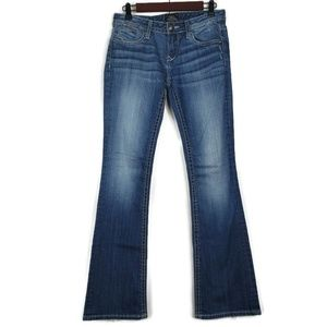 Express Jeans - ReRock For Express Size 2 Boot Cut Jeans